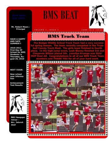 June 2010 Edition - Joseph Badger Local Schools
