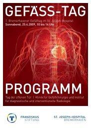 verlinkten Flyer - St. Joseph-Hospital Bremerhaven