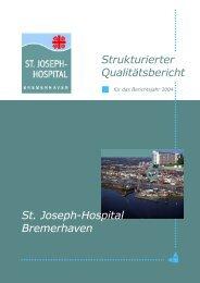 Qualitätsbericht als pdf-Datei [4,88 MB] - St. Joseph-Hospital ...