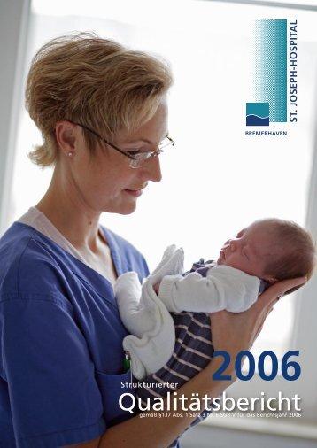 Qualitätsbericht - St. Joseph-Hospital Bremerhaven