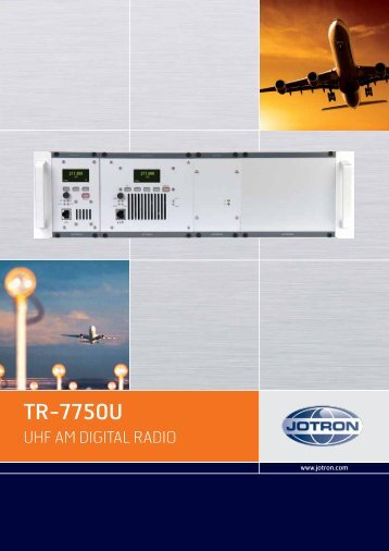 Brochure TR 7750U.pdf - Jotron
