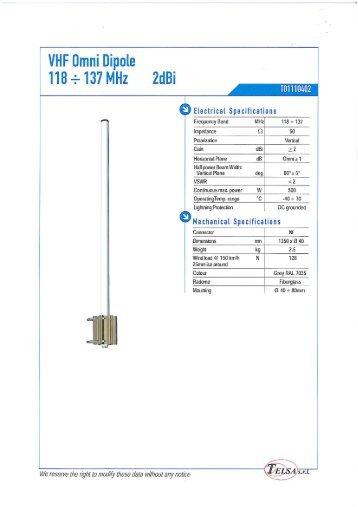 Telsa VHF antennas.pdf - Jotron