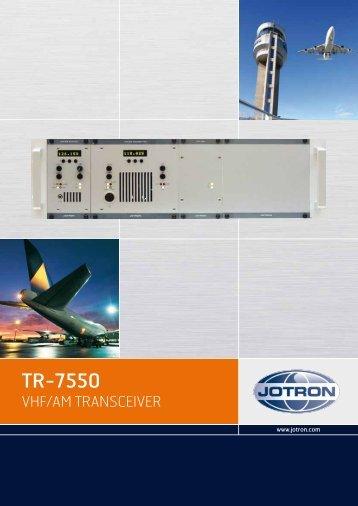 TR-7550 - Jotron