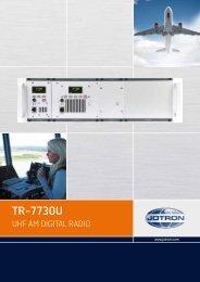 Brochure TR 7730U.pdf - Jotron