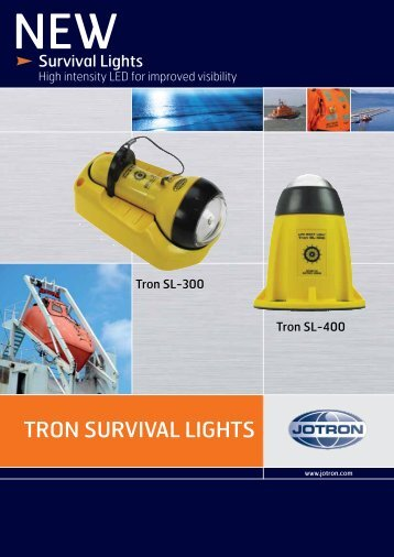 Brochure Tron Survival Lights.pdf - Jotron