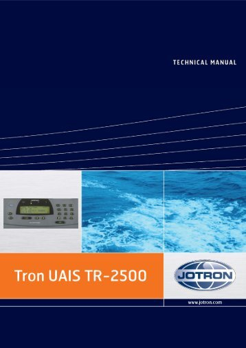 Technical Manual Tron UAIS TR-2500.pdf - Jotron