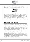 Tron AIS-SART - Jotron - Page 4