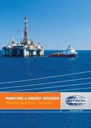 MARITIME & ENERGY DIVISION - Jotron