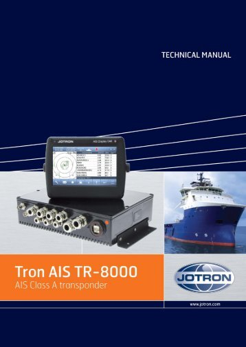 Technical Manual Tron AIS TR-8000.pdf - Jotron