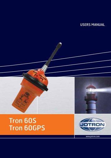 Tron 60S Tron 60GPS - Jotron