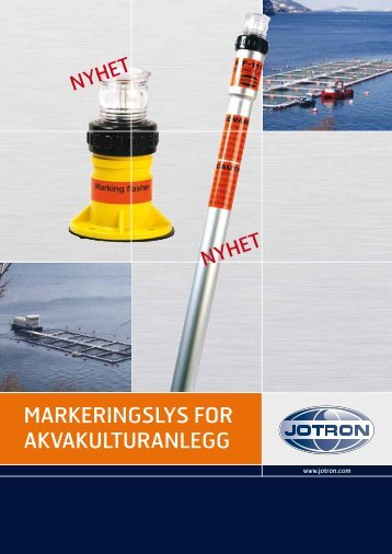 Brochure Markeringslys for akvakulturanlegg.pdf - Jotron