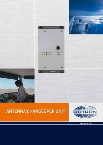 Brochure Antenna Changeover Unit.pdf - Jotron