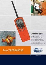 Brochure Tron TR20 GMDSS.pdf - Jotron