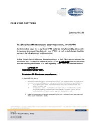 Battery replacement and SBM.pdf - Jotron