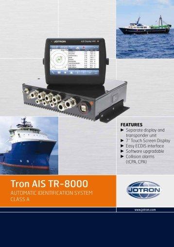 Brochure Tron AIS TR-8000.pdf - Jotron