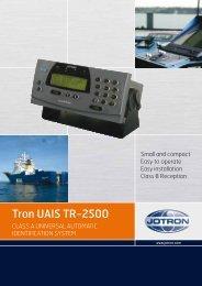 Brochure Tron UAIS TR 2500.pdf - Jotron