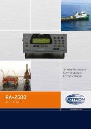 Brochure RA 2500 AIS Receiver.pdf - Jotron