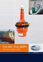 Tron 40S / Tron 40GPS - Jotron