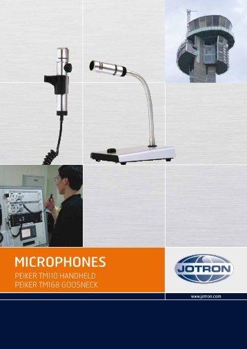 Peiker Microphones.pdf - Jotron