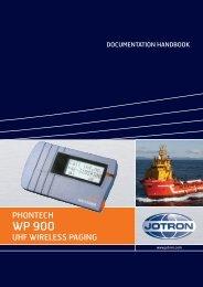 Users Manual WP 900 UHF.pdf - Jotron