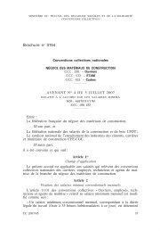 Matériaux de construction (négoce) : Avenant n° 4 ... - Journal Officiel