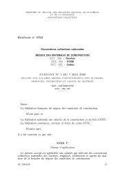 Matériaux de construction (négoce [ouvriers, ETAM]) - Journal Officiel