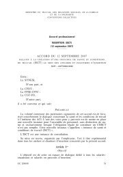 ACCORD DU 12 SEPTEMBRE 2007 Entre : Le ... - Journal Officiel