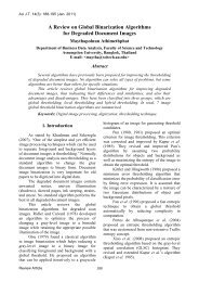 A Review on Global Binarization Algorithms for Degraded Document ...