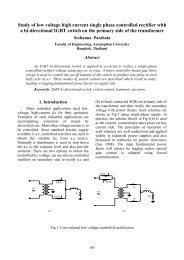 Study of low voltage high current single phase controlled - AU Journal