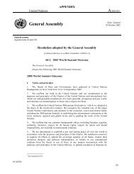 Resolution Adopted by the General Assembly 2005 ... - AU Journal