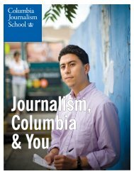 Columbia Journalism School - Columbia University Graduate ...