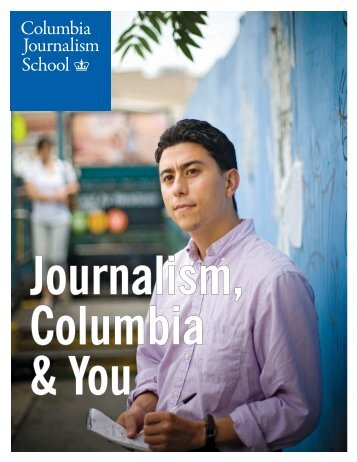 Columbia Journalism School - Columbia University Graduate ...