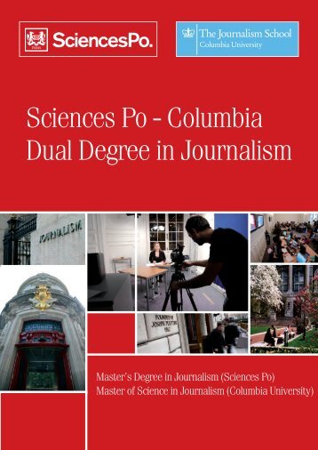Sciences Po Brochure - Columbia University Graduate School of ...