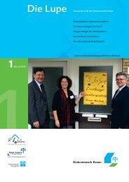 Die Lupe 1/2010 - Hauszeitschrift des ... - Diakoniewerk Essen