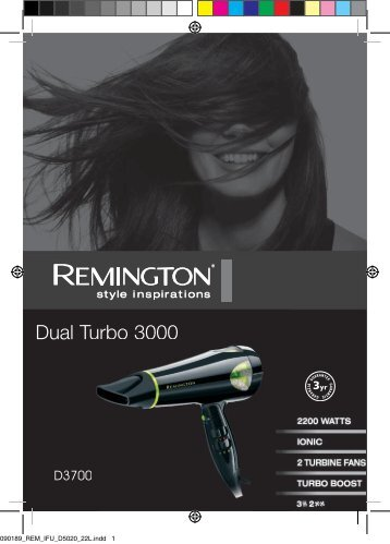 Dual Turbo 3000 Turbo 3000 - Remington