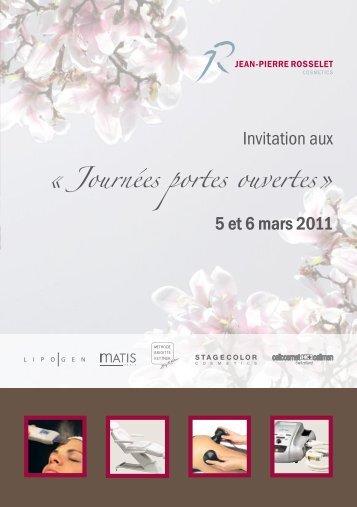 5 et 6 mars 2011 - Jean-Pierre Rosselet Cosmetics AG