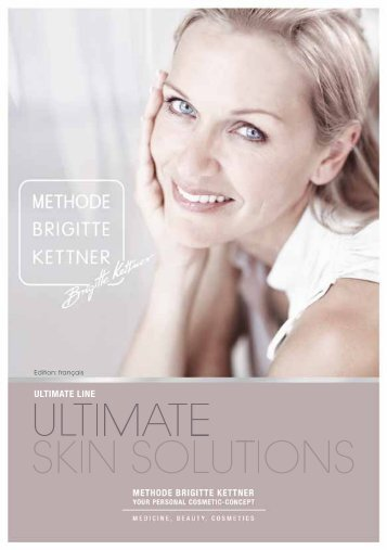 Brochure Ultimate Skin Solution - Jean-Pierre Rosselet Cosmetics AG