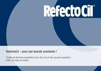RefectoCil - Jean-Pierre Rosselet Cosmetics AG