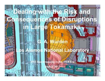 Dealing with the Risk and g Consequences of Disruptions i L T k k in ...