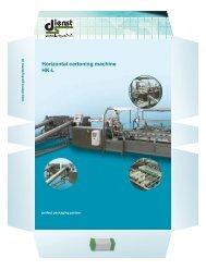 Horizontal cartoning machine HK-L