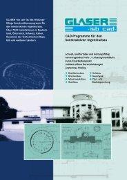 Cad-Programme für den konstruktiven Ingenieurbau