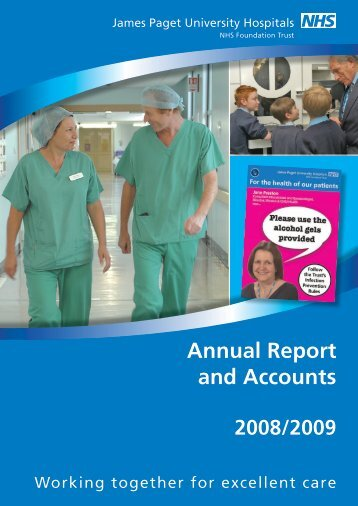 Annual Report and Accounts - James Paget University Hospitals