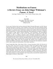 view PDF - Journal of Pan African Studies