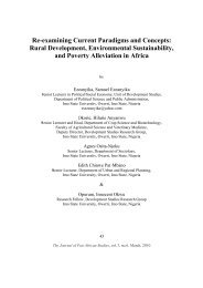 Re-examining Current Paradigms and Concepts - Journal of Pan ...