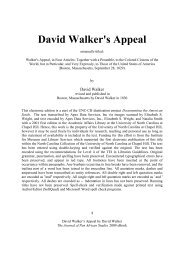 eBook David Walker's Appeal - Journal of Pan African Studies