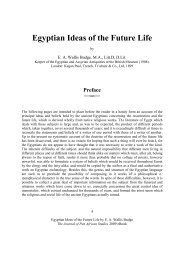 Ebook egyptian ideas of the future life - Journal of Pan African Studies