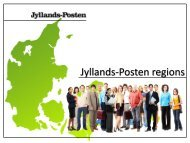 Jyllands-Posten regional coverage - Jyllands-Posten | Annonce