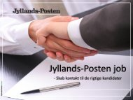 Klik her - Jyllands-Posten | Annonce