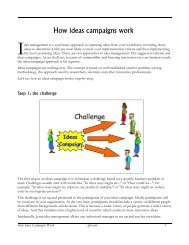 How ideas campaigns work - Jpb.com