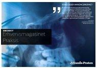 Erhvervsmagasinet Praksis - Jyllands-Posten | Annonce